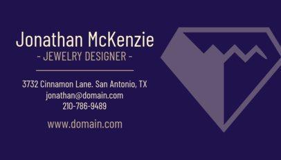 Jewelry Designer Business Card Template 563b