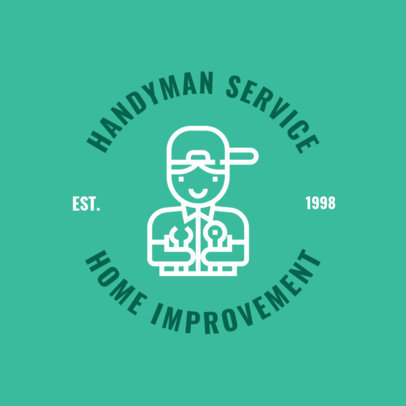 Handyman Logo Template with Illustration 1427