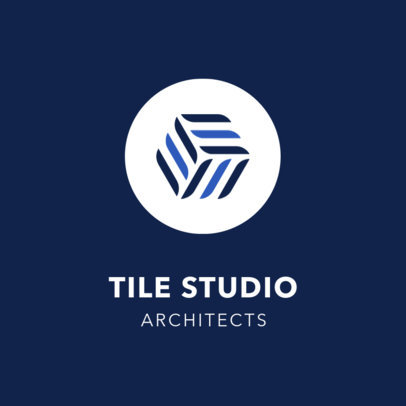 Architecture Firm Logo Maker with Minimalist Design 1420a