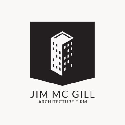 Online Logo Maker for Professional Architect Firm 1421