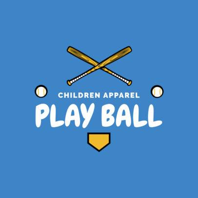 Children's Apparel Brand Logo Creator 1322d
