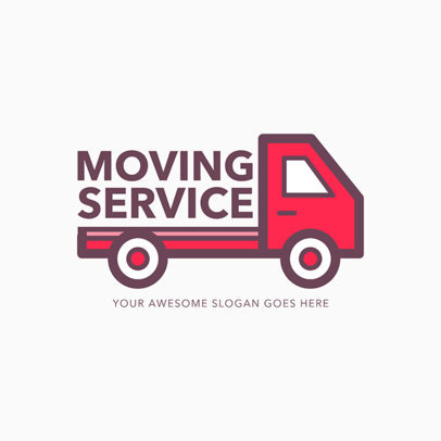Online Logo Maker for Moving Agencies 1386