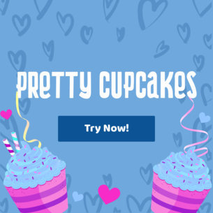 Pretty Banner Generator with Pastry Graphics 383d