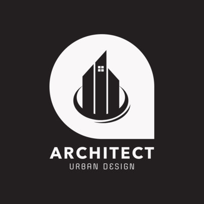 Logo Design Template for Architect Group 1421a