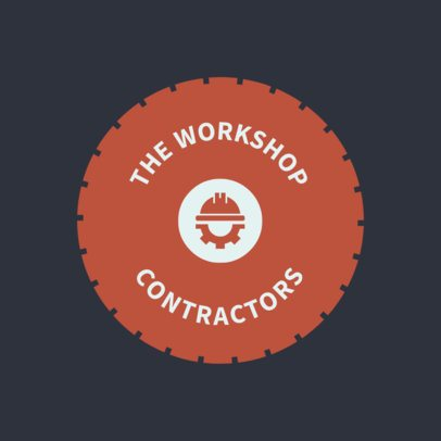 Contractor Workshop Logo Creator 1428e
