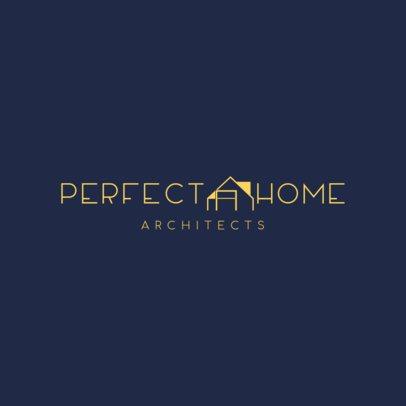 Architect Expert Logo Design Template 1419d