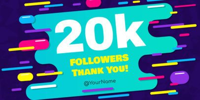 Twitter Post Template for Celebrating Followers 613