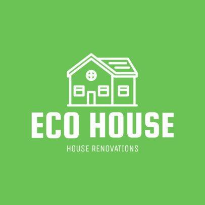 Logo Maker for House Renovation Experts 1431d