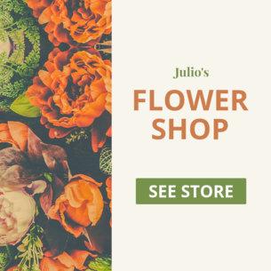 Ad Banner Maker for Flowers Shops 610b