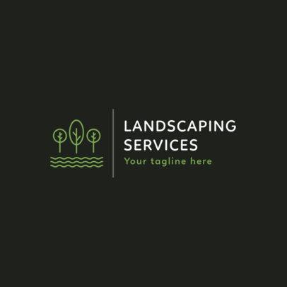 Landscaping Services Logo Generator 1425