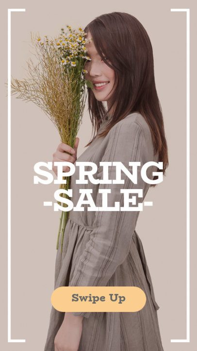 Spring Sales Insta Story Template 582d