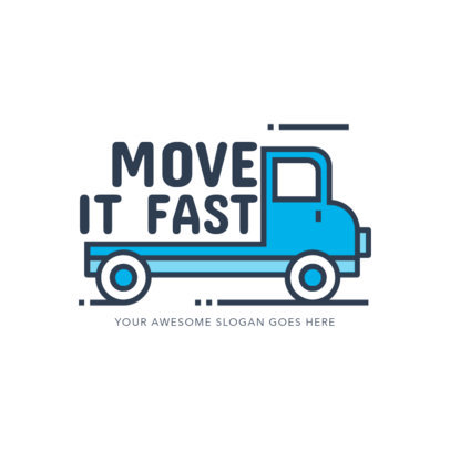 Logo Maker for Professional Moving Companies 1386a