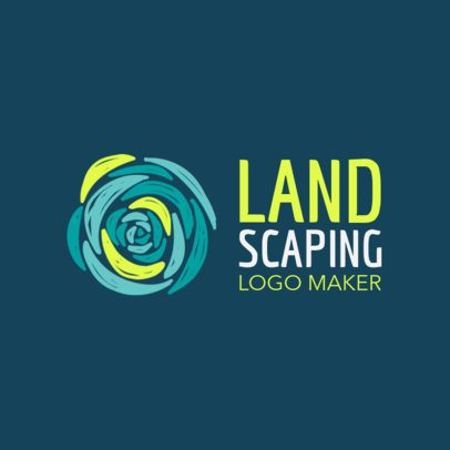 Landscaping Logo Maker 1435
