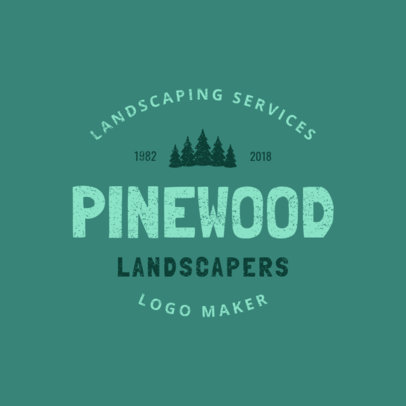 Logo Maker for a Landscaping Services Company 1426a