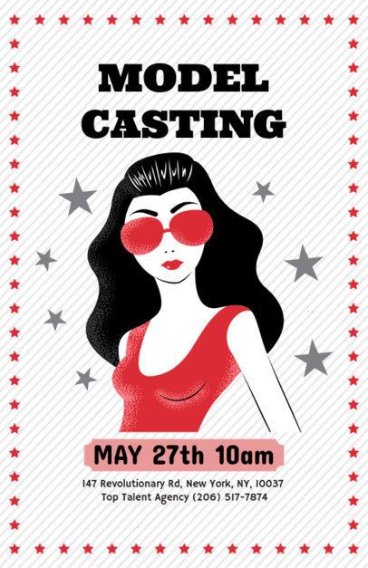 Model Casting Flyer Maker 422e