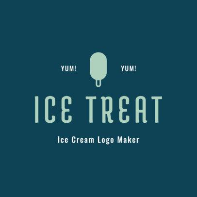 Ice-Cream Logo Generator 1398a