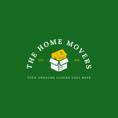 Online Logo Maker for Home Movers 1388c