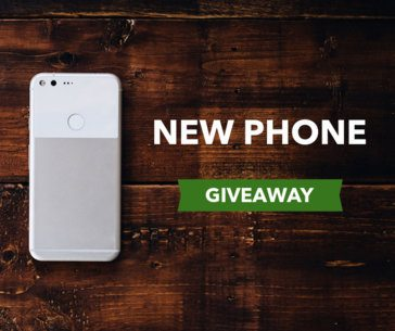 Cell Phone Giveaway Facebook Post Maker 635a
