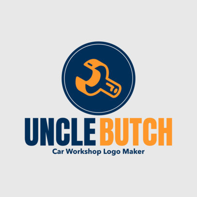 Car Workshop Online Logo Maker 1407
