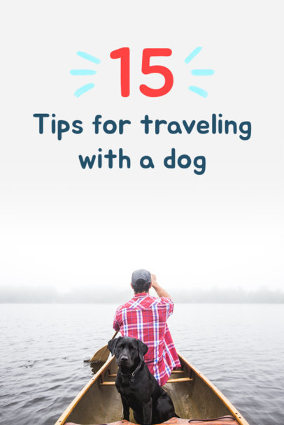 Pinterest Pin Maker for Dog Travel Tips 614d