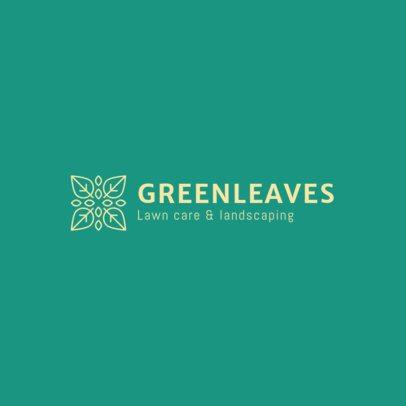Lawn Care Logo Maker 1425a