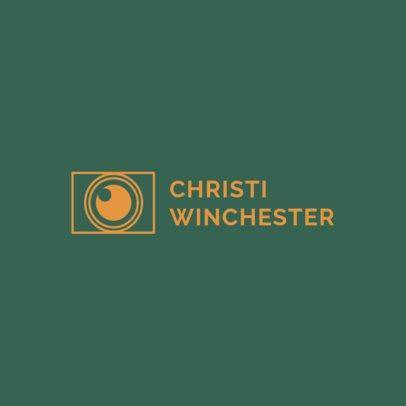 Minimalist Logo Maker for Photographers 1498c
