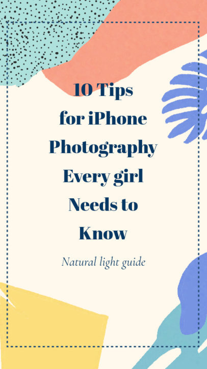 Photography Tips Instagram Story Maker 609b