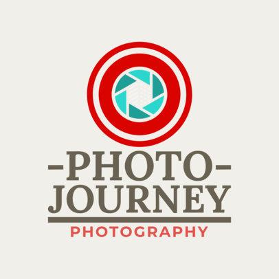 Photographer Logo Template 1439