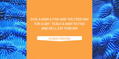 Twitter Post Maker with Chinese Proverb 611b