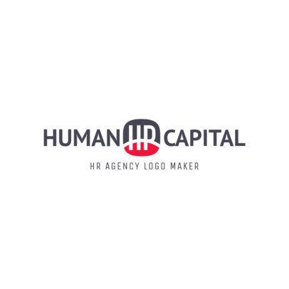 HR Agency Logo Maker 1445