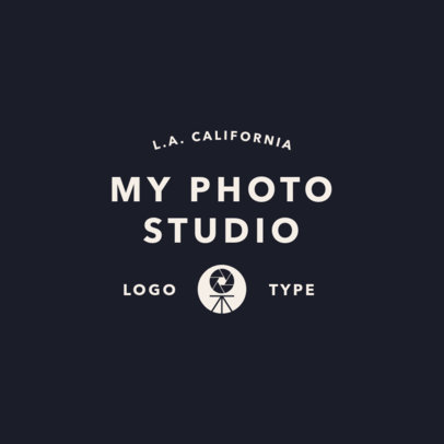 Photographer Logo Template 1443