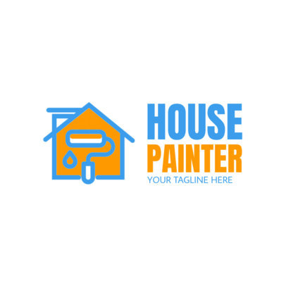 House Painter Logo Creator 1446