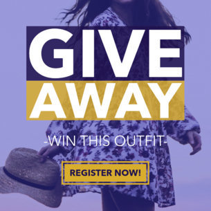 Outfit Giveaway Ad Banner Maker 543a