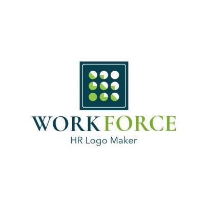HR Workforce Logo Maker 1449b