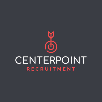 Recruitment Company Logo Template 1452