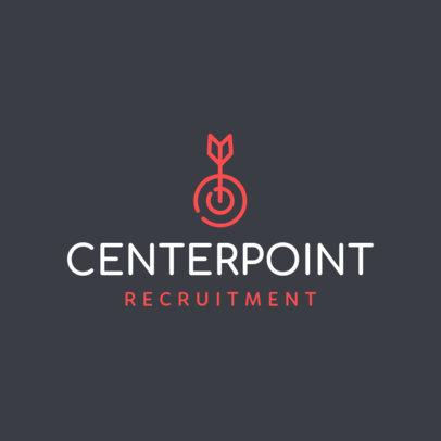 Recruitment Company Logo Template 1452