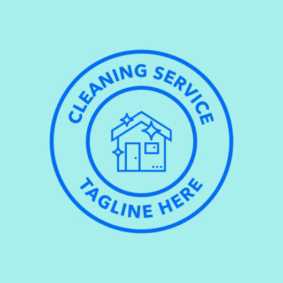 Cleaning Service Provider Logo Maker 1453