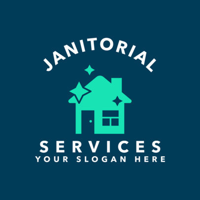 Janitorial Service Online Logo Maker  1454