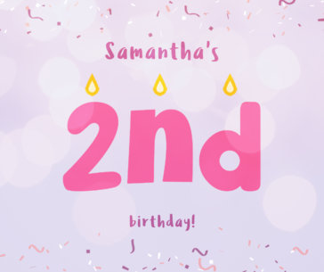 Creative Happy Birthday Facebook Posts Template e640