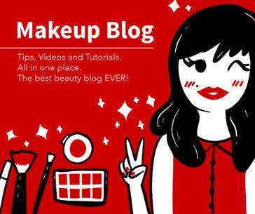 Makeup Blog Post Template for Facebook 653b
