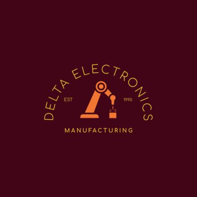 Logo Maker for a Manufacturing Company 1415e