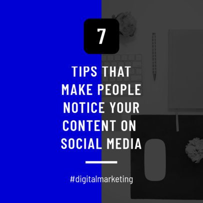 Social Media Content Post Template for Insta 631a