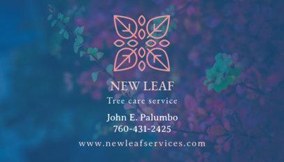 Tree Service Business Card Maker 647c
