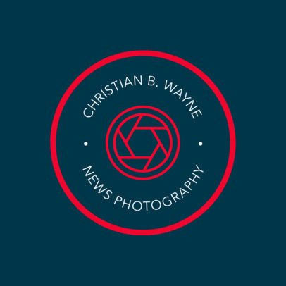 Logo Template for Photojournalists 1438c