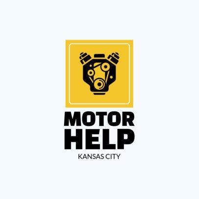 Auto Shop Online Logo Maker c1407