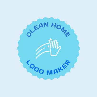 Logo Generator for Residential Cleaning Services 1453a