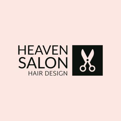 Hair Design Salon Logo Template 1470