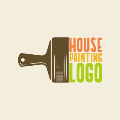House Painting Services Logo Maker 1436