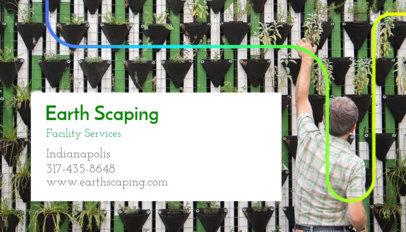 Landscape Architecture Business Card Maker 644a