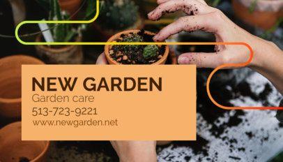 Garden Care Business Card Template 644d